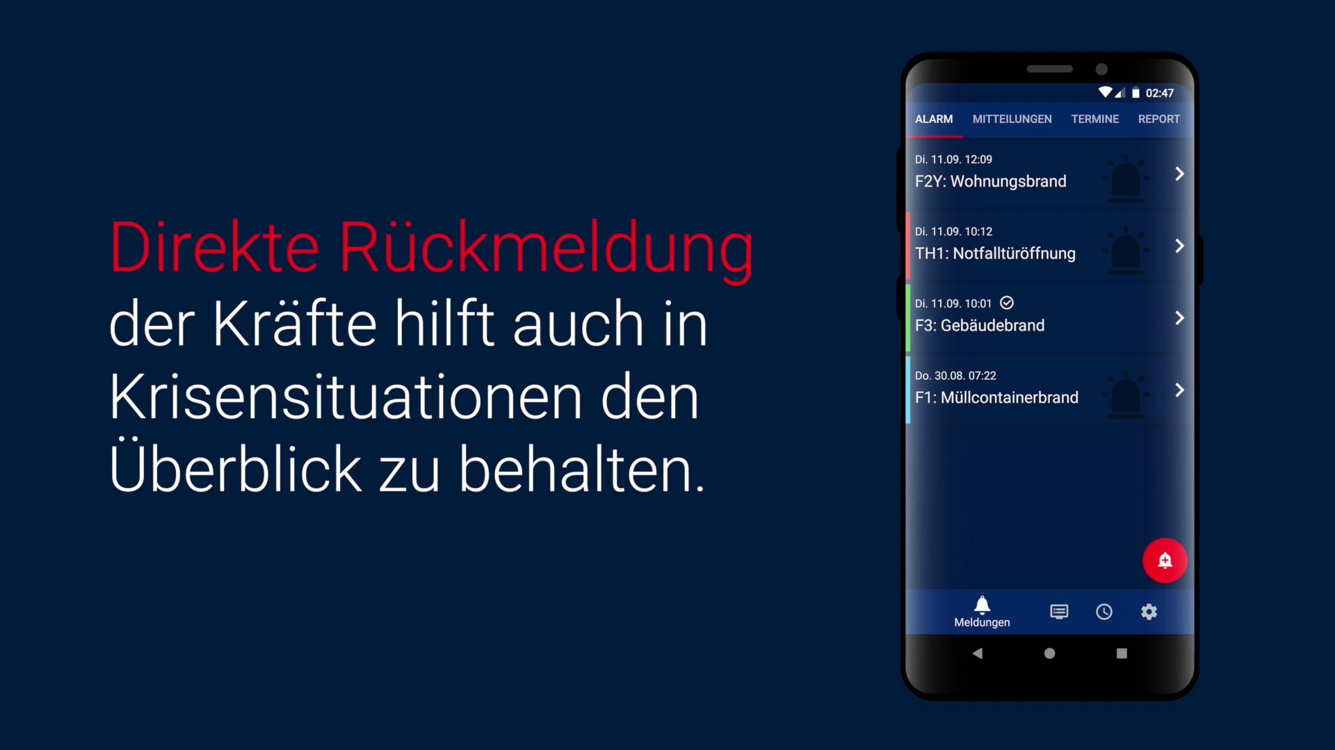 Veröffentlichung der neuen Alarmierungsapp für Android