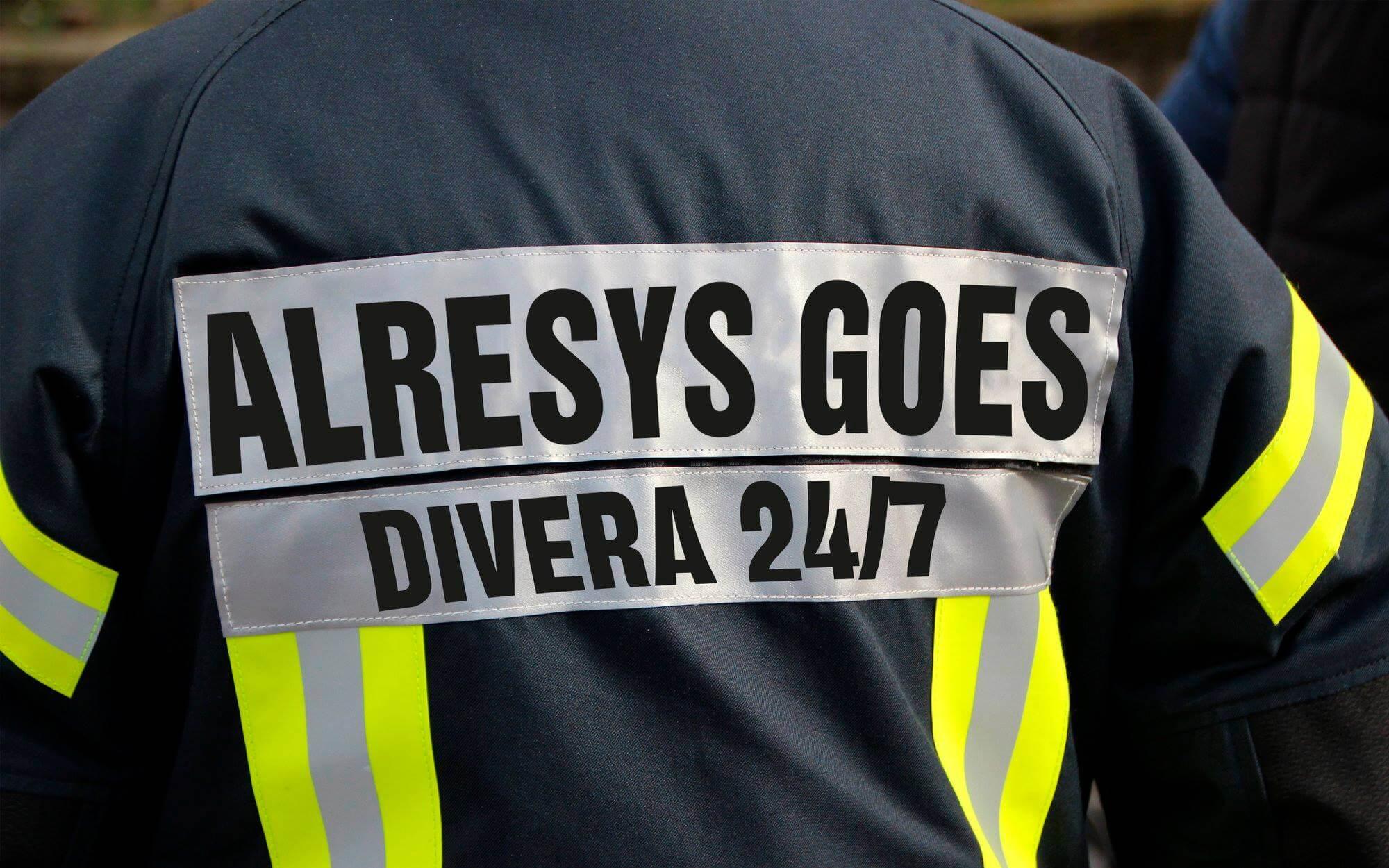 DIVERA 24/7 übernimmt die App Alresys - Alarm Response System